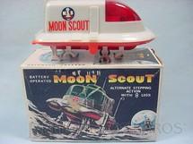 1. Brinquedos antigos - Nomura Toys - Veículo Lunar M.S.8 Moon Scout com 17,00 cm de comprimento Movimento através de oito patas Década de 1970