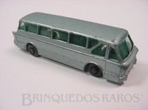 1. Brinquedos antigos - Matchbox - Leyland Royal Tiger Coach black plastic Regular Wheels