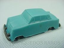 1. Brinquedos antigos - Sem identificação - Aero Willys com 6,00 cm de comprimento azul brinde Toddy Década de 1960