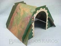 1. Brinquedos antigos - Hornby Meccano - Túnel em chapa de Duratex prensada 17,00 cm de altura Hornby Paris Década de 1930