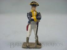 1. Brinquedos antigos - Hobbylandia - Soldado da Guerra da Independência Americana de pé com fuzil Década de 1970
