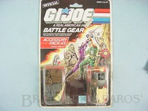 1. Brinquedos antigos - Hasbro - Accessory Pack number 5 Battle Gear completo lacrado Ano 1987