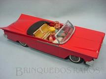 1. Brinquedos antigos - Bonzo - Carro conversível com duas figuras 30,00 cm de comprimento Década de 1970