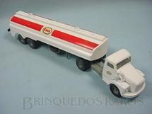 1. Brinquedos antigos - Juê - Cavalo Mecânico Scania Vabis L76 com carreta Esso