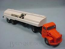 1. Brinquedos antigos - Juê - Cavalo Mecânico Scania Vabis L76 com carreta Oxiteno
