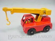 1. Brinquedos antigos - Matchbox - Guindaste Iron Fairy Crane black plastic Regular Wheels