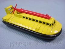 1. Brinquedos antigos - Matchbox - Inbrima - SRN6 Police Hovercraft Superfast amarelo Brazilian Matchbox Inbrima 1970
