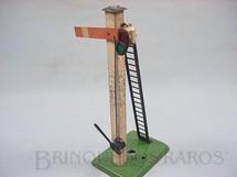 1. Brinquedos antigos - Hornby Meccano - Sinaleiro de linha Década de 1950