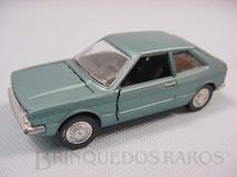 1. Brinquedos antigos - Schuco-Rei - Volkswagen Scirocco azul metálico Brasilianische Schuco Rei