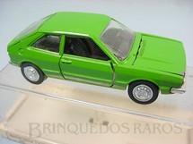 1. Brinquedos antigos - Schuco-Rei - Volkswagen Scirocco verde Brasilianische Schuco Rei