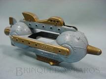 1. Brinquedos antigos - Tootsietoy - Nave Espacial Flash Blast Attack Ship azul com 11,00 cm de comprimento Buck Rogers 25th Century Rocket Ships Ano 1937
