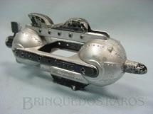1. Brinquedos antigos - Tootsietoy - Nave Espacial Flash Blast Attack Ship prata com 11,00 cm de comprimento Buck Rogers 25th Century Rocket Ships Ano 1937