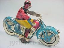 1. Brinquedos antigos - J.M.L. Jouet Magnim de Lyon - Motocicleta com 17,00 cm de comprimento Década de 1930