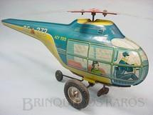 1. Brinquedos antigos - Technofix - Helicóptero com 34,00 cm de comprimento Made in US Zone Década de 1950