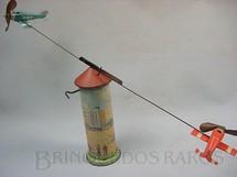 1. Brinquedos antigos - Technofix - Torre com 20,00 cm de altura 2 aviões Made in US Zone Ano 1948