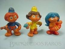 1. Brinquedos antigos - Casablanca e Gulliver - Figuras avulsa Série Brasilianos Década de 1970