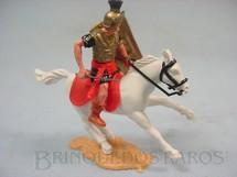1. Brinquedos antigos - Timpo Toys - Soldado Romano a cavalo com espada