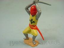 1. Brinquedos antigos - Timpo Toys - Guerreiro medieval a pé com espada
