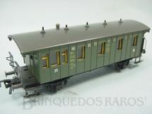 1. Brinquedos antigos - Fleischmann - Carro de Passageiros com dois eixos DB segunda e terceira classe Made in US Zone Ano 1954