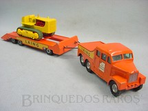 Brinquedos Antigos - Matchbox - Scammell Prime Mover and Caterpillar Tractor King Size