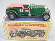 1. Brinquedos antigos - Matchbox - 1929 Bentley 4.5 litre Banco vermelho Yesteryear