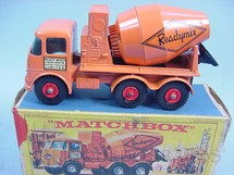 Brinquedos Antigos - Matchbox - Ready-Mix Concrete Truck King Size