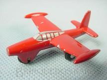1. Brinquedos antigos - Schuco - Avião Thunderjet Série Piccolo numerado 780 Década de 1960