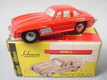 1. Brinquedos antigos - Schuco - Mercedes Benz 300 SL Série Piccolo Década de 1990