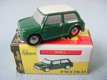 1. Brinquedos antigos - Schuco - Austin Mini Cooper Série Piccolo Década de 1990