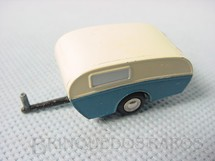 1. Brinquedos antigos - Schuco - Trailer Caravan Série Piccolo com 5,00 cm de comprimento Numerado 722 Ano 1957
