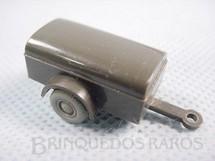 1. Brinquedos antigos - Wiking - Reboque militar Década de 1960