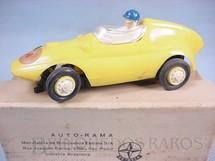 1. Brinquedos antigos - Estrela - Fórmula Junior Amarela licença Gilbert Co. Ano 1963