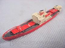 1. Brinquedos antigos - Hansa - Navio mercante Helga Dan com 8,00 cm de comprimento Década de 1970