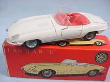 1. Brinquedos antigos - Tekno - Jaguar E Type conversível Década de 1960