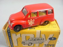1. Brinquedos antigos - Roly Toys - DKW Vemag Vemaguete Bombeiro com 6,00 cm de comprimento Década de 1960