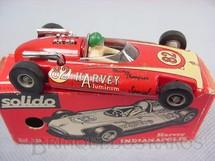 1. Brinquedos antigos - Solido - Harvey Aluminiun Indianápolis Special Datado 2-1965