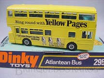 1. Brinquedos antigos - Dinky Toys - Atlantean Bus Yellow Pages Década de 1970