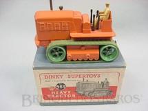 1. Brinquedos antigos - Dinky Toys - Heavy Tractor Década de 1950