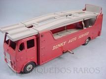 1. Brinquedos antigos - Dinky Toys - Caminhão Cegonha Car Carrier Dinky Auto Service Década de 1960