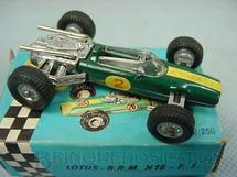 1. Brinquedos antigos - Politoys e Polistil - Lotus BRM Penny Politoys Década de 1960
