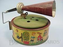 1. Brinquedos antigos - Kboo - Gramofone Keimola com 15,00 cm de diâmetro Década de 1930