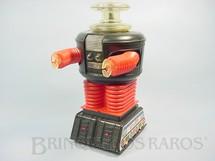 1. Brinquedos antigos - Remco - Lost in Space Robot Perdidos no Espaço original com 32,00 cm de altura Perfeito estado Década de 1960