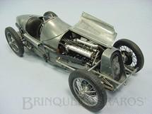1. Brinquedos antigos - Protar - Fiat Grand Prix 1927 Kit montado todo em metal com 31,00 cm de comprimento Década de 1990