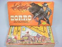 1. Brinquedos antigos - Coluna - Jogo Zorro Walt Disney Década de 1970