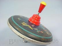 1. Brinquedos antigos - Estrela - Pião Sonoro com 20,00 cm de diametro Personagens de Walt Disney Década de 1960