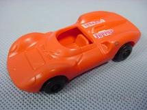 1. Brinquedos antigos - Brasilflex - Ferrari 330P vermelha com 8,00 cm de comprimento Década de 1980