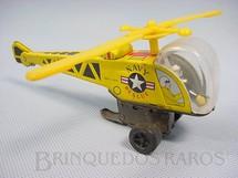1. Brinquedos antigos - Sem identificação - Helicóptero Navy Rescue com 17,00 cm de comprimento Década de 1970