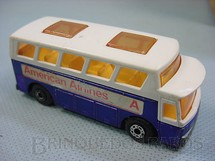 1. Brinquedos antigos - Matchbox - Airport Coach Superfast American Airlines