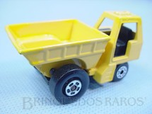 1. Brinquedos antigos - Matchbox - Inbrima - Site Dumper Superfast caçamba amarela Brazilian Matchbox Inbrima 1970