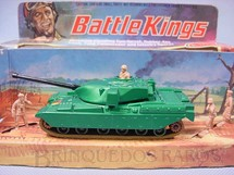 1. Brinquedos antigos - Matchbox - Chieftain Tank Battle Kings completo com tres soldados
